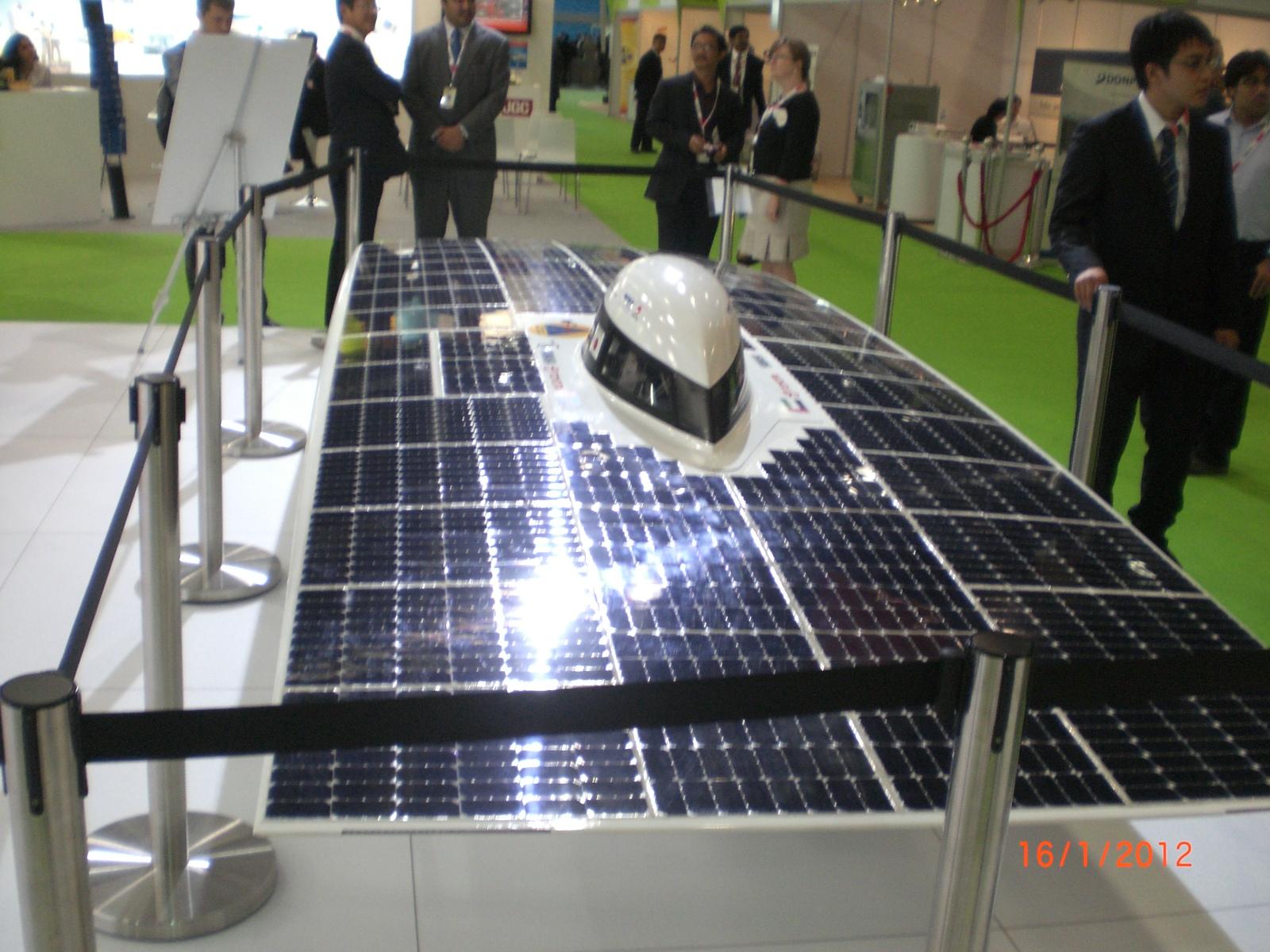 Voiture photovoltaique