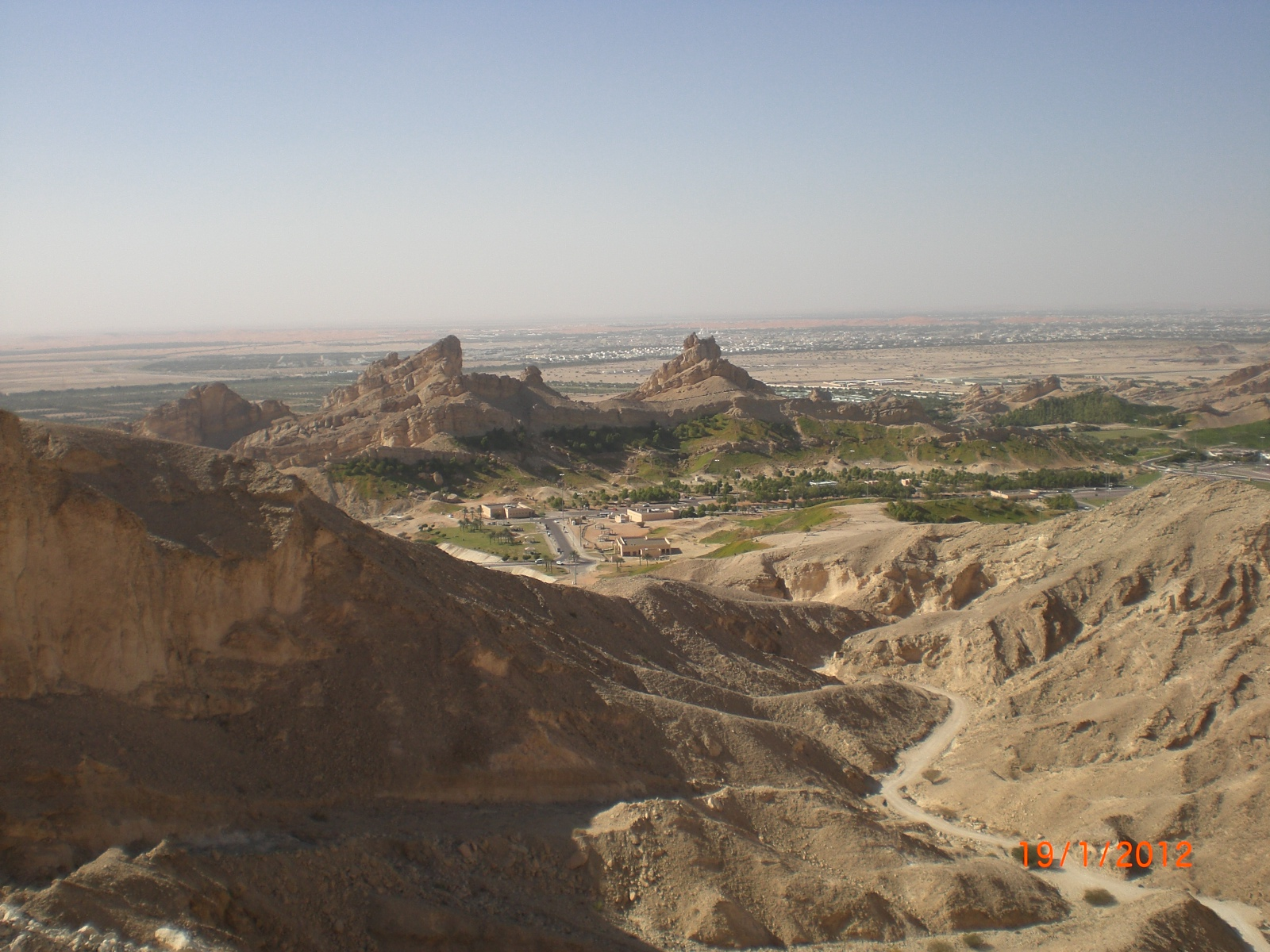 Vu Jebel Hafeet