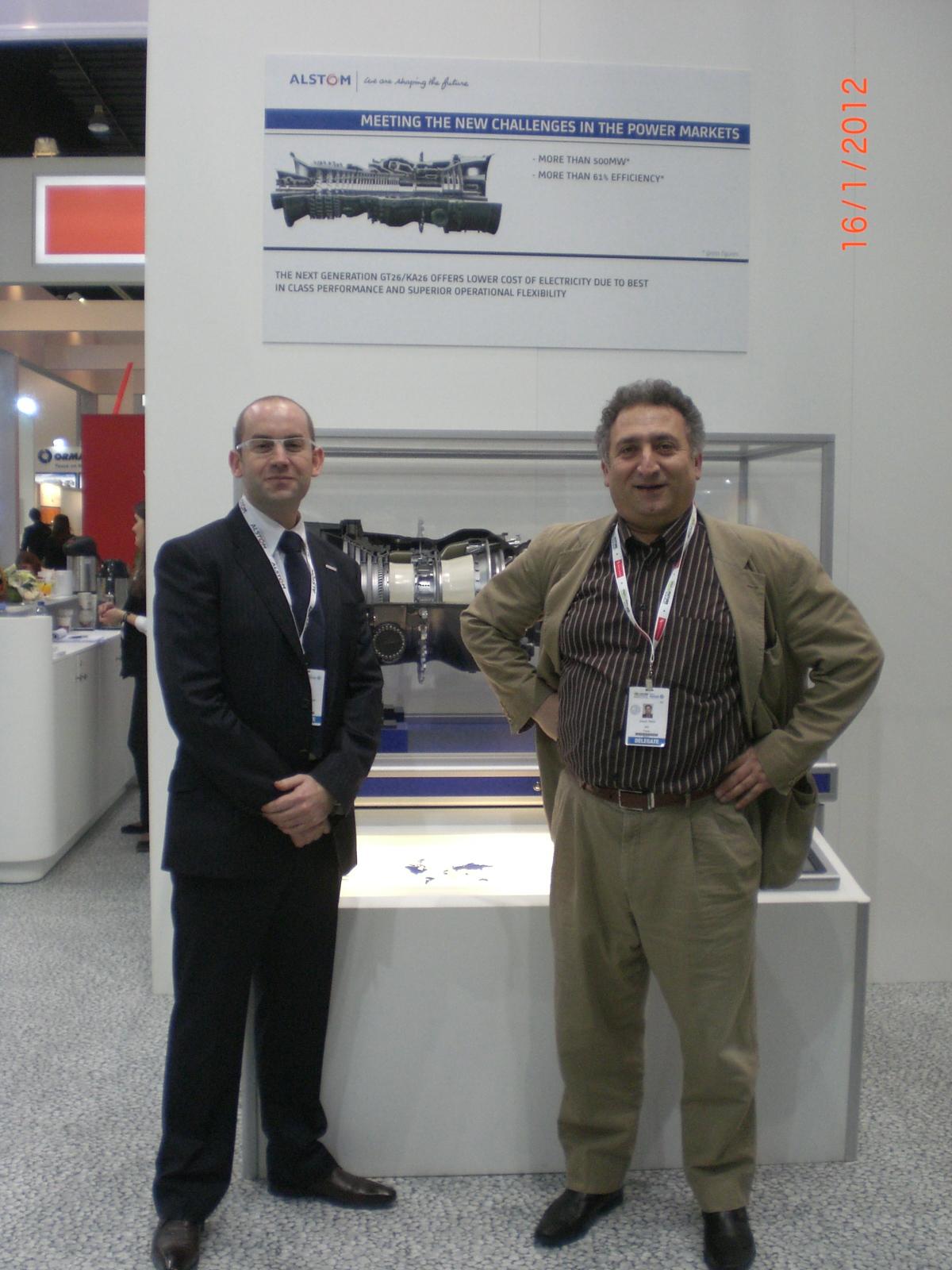 Joseph Irani et Jonathan Trippm ALSOM (Renewable Power))