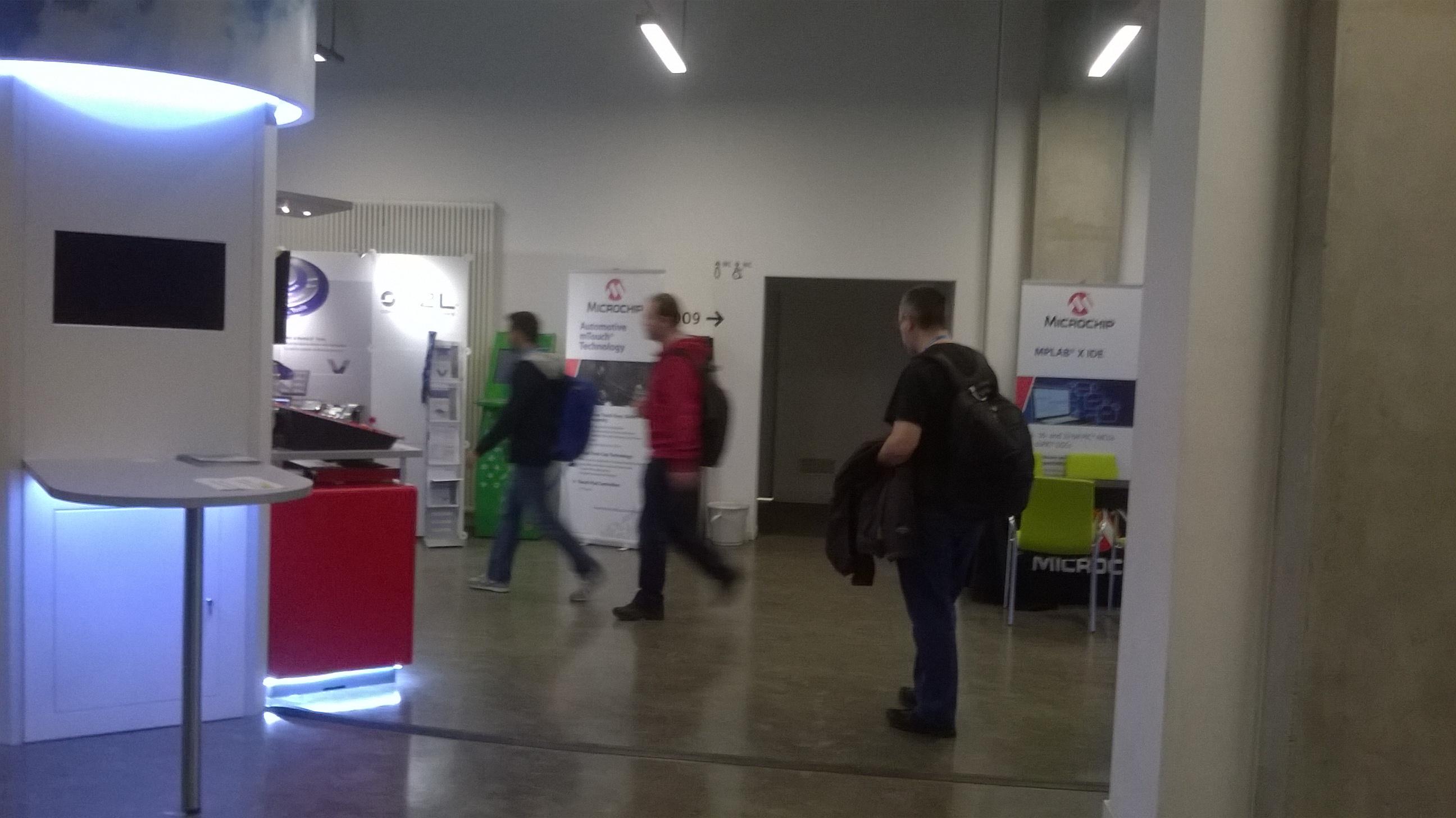 Microchip Masters 2015 à Berlin - Espace Expo