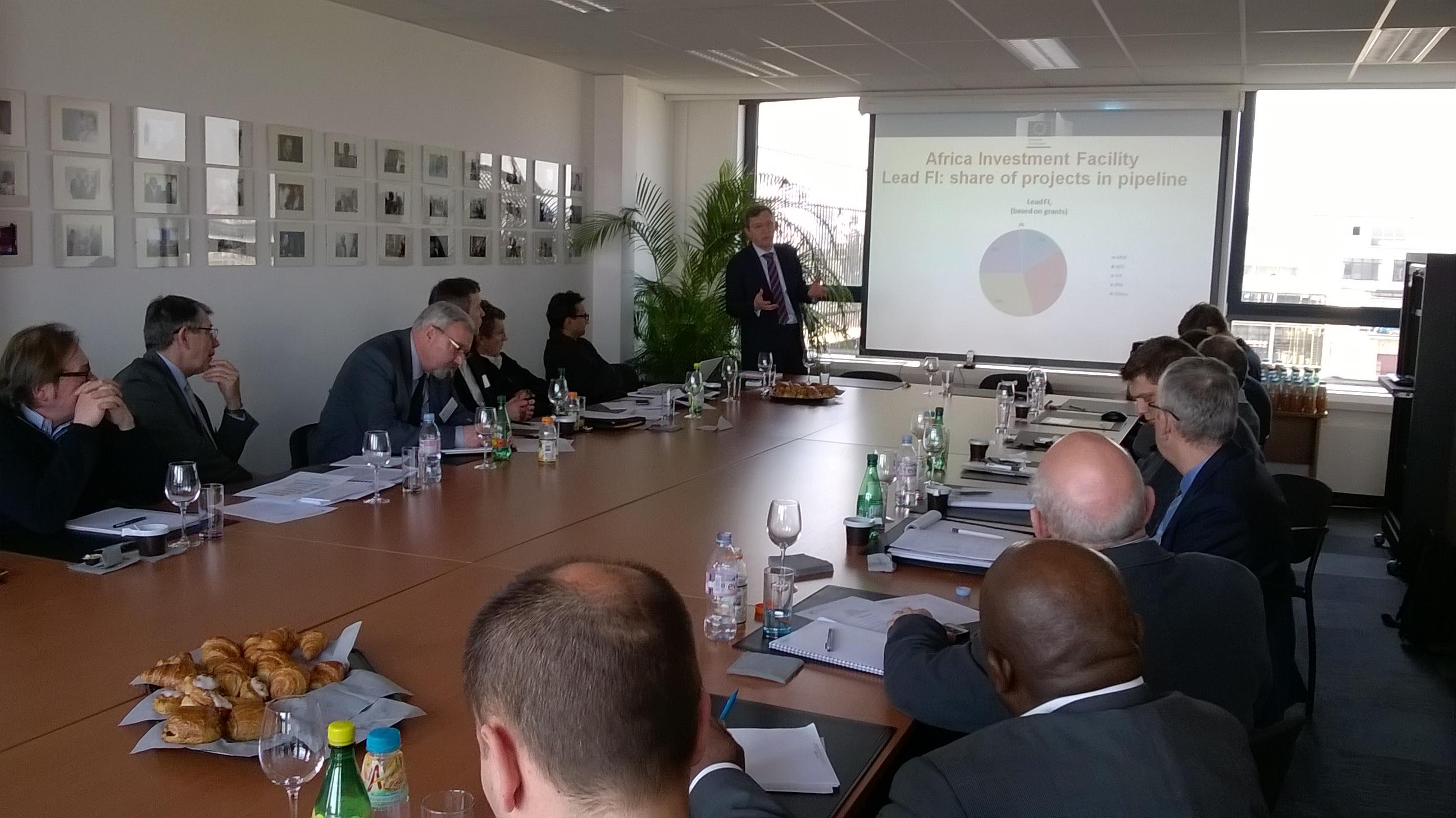 B4E avec le club export CINOV à Bruxelles