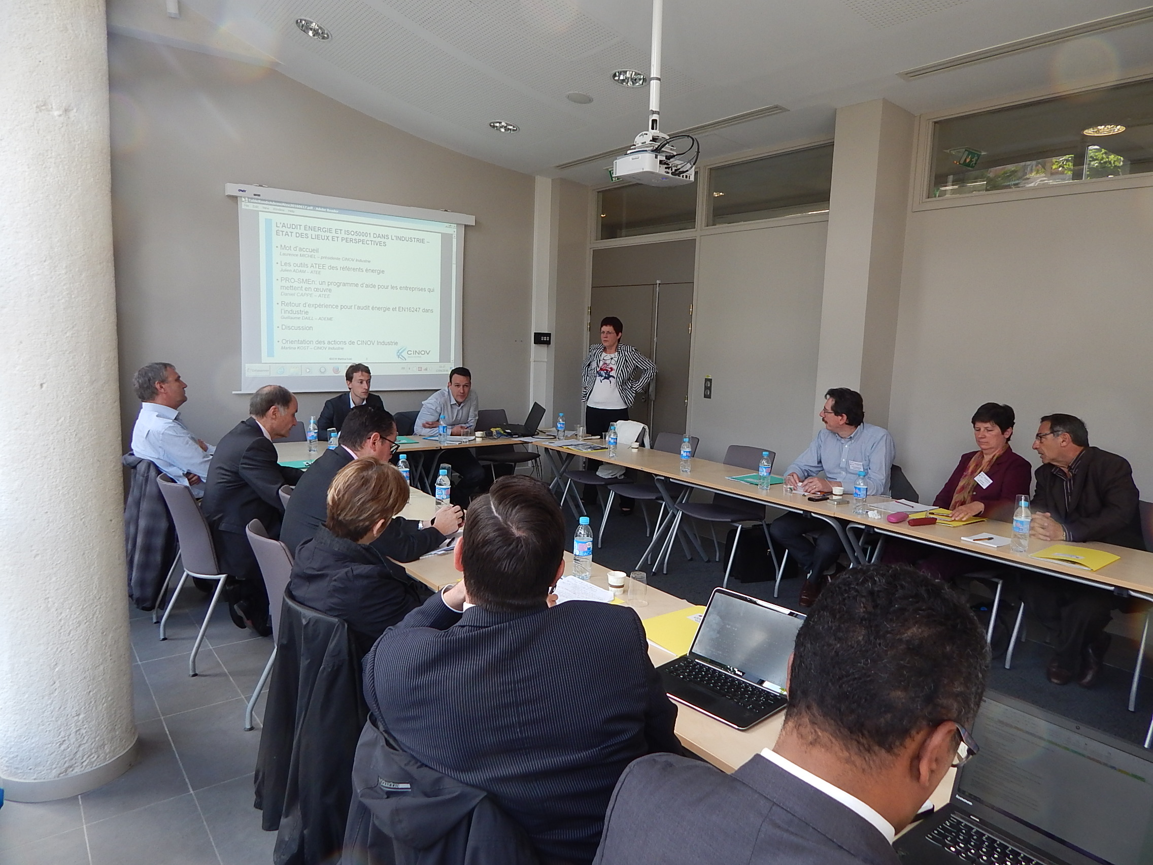 Table ronde audit énergie et iso50001 dans l'industrie