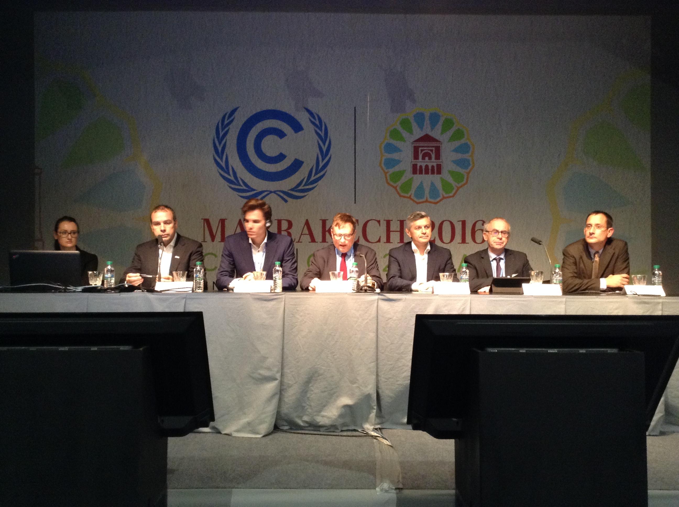 COP22 Economie circulaire Table ronde entreprises
