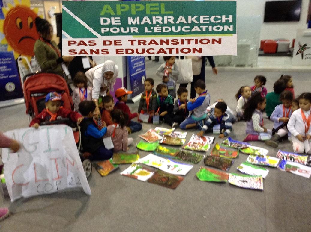 Apres la COP 22 - education