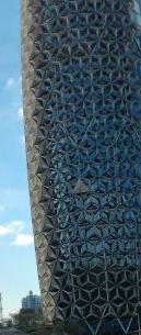 El Behar Towers Detail - Pinapples Towers
