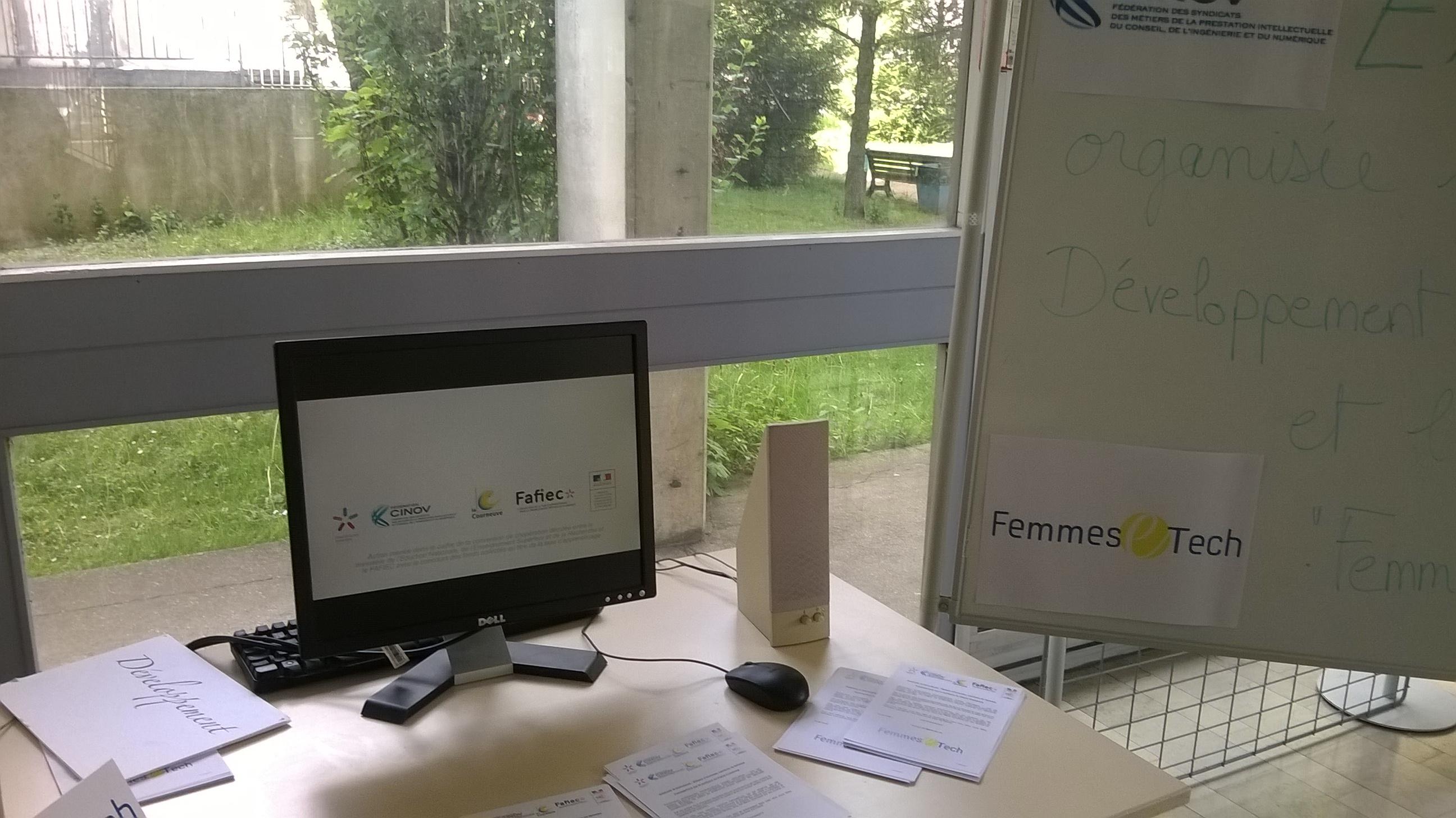 Femmes Tech a l IUT St Denis