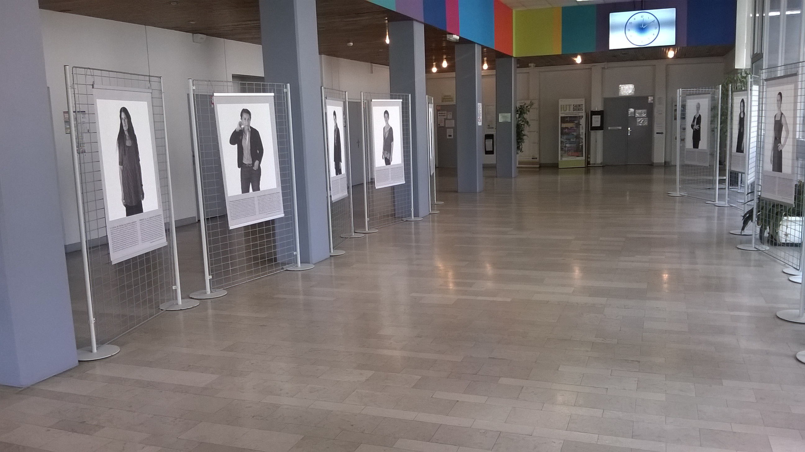 L'exposition Infinités Plurielles à l'IUT St Denis
